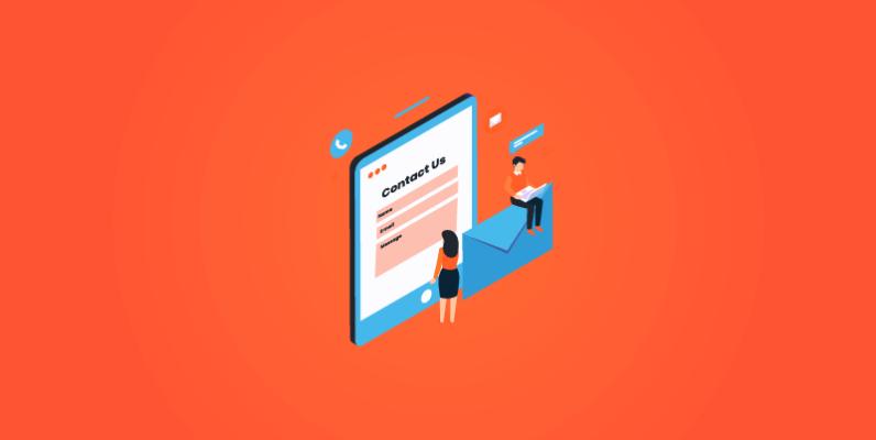 Tính năng tạo và quản lý form liên hệ