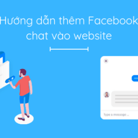 tích hợp chat facebook